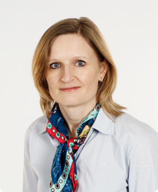 Portrait of Camilla Mireaux, VP Pharmaceutical Affaires Biocodex group