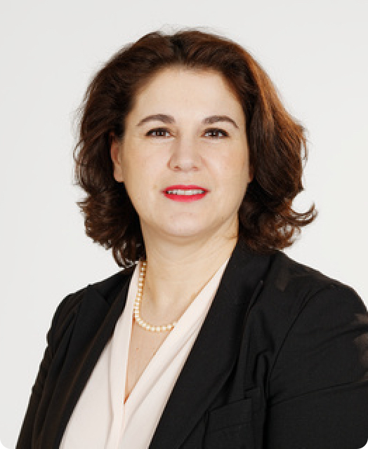 Florence Leroy, VP Human Resources and Iprad Chief Operating Officer