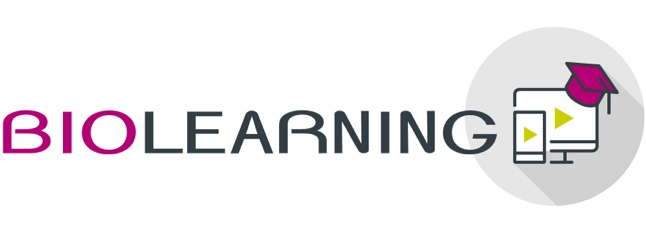 This image has an empty alt attribute; its file name is Biolearning_LOGO@2x.jpg