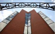 View of Biocodex headquarters building in Gentilly, near Paris, France.